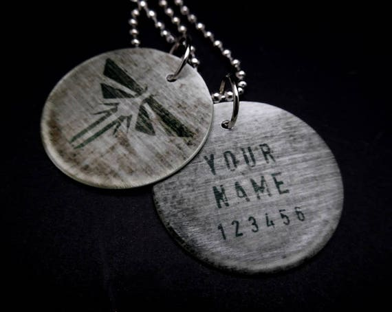 Customizable the last of us firefly dog tags mozeypictures Choice Image