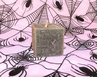 Borg Cube candle