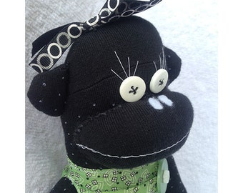 Sock Monkey - Jade