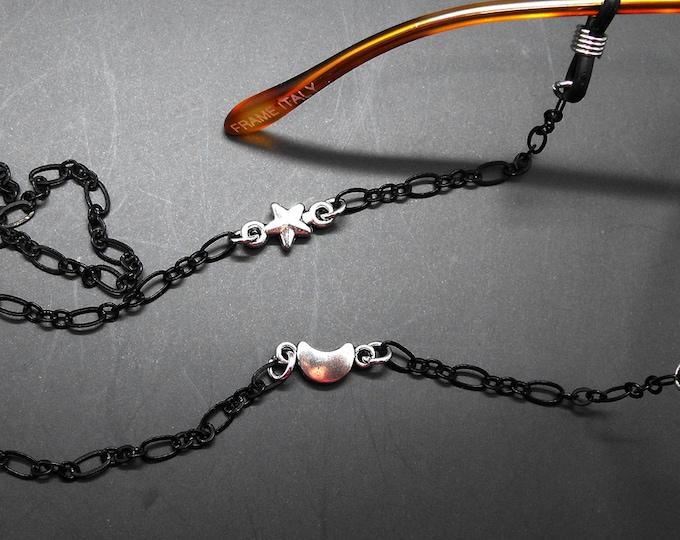 Moon Star Eyeglass Chain Holder Eye Glass Glasses Lanyard