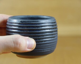 Handless Mug, Pottery Cup, Coffee Cup, Handmade Stoneware Teacup, Ceramic Tumbler