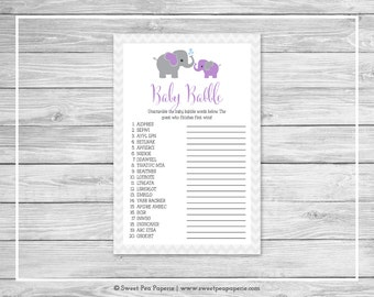 baby babble game etsy