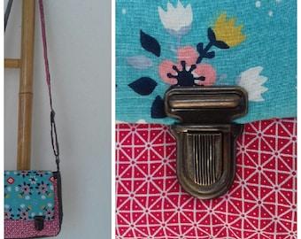 Small satchel, vintage fabric