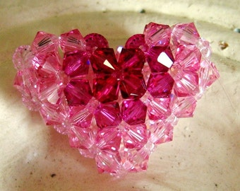 Bullseye Puffy Heart Addendum Tutorial / Instructions