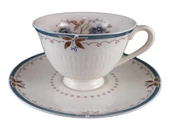 Royal Doulton 'Old Colony' Tea Cup & Saucer