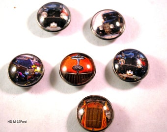 1932 Ford Magnets, Refrigerator Magnets, Hot Rod Magnets, Garage Magnets, Car Magnets, Magnets with Cars