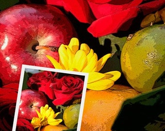 Fine Art Photography-Fruit and Flowers