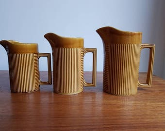 Set of Three Ellgrave Tiko Jugs
