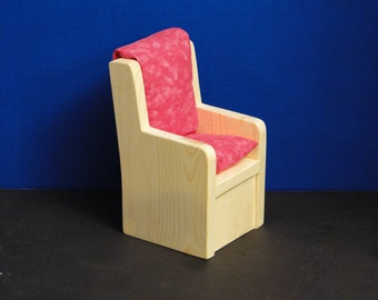 Chair with Cushion for 12 inch doll (085)