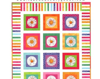 New EZ Dayz It Quilt sewing pattern by Lakehouse Drygoods - Easy