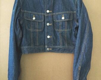 Ralph Lauren Women Short Light Weight Denim Jacket/used