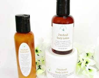 Patchouli lotion, moisturizing lotion, with Shea Butter, hippy scented lotion 2oz