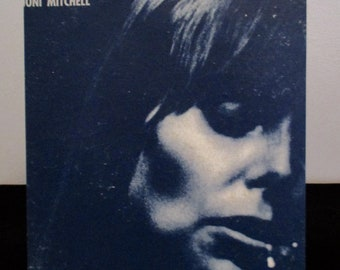 Recycled vinyl album cover notebook - Joni Mitchell!