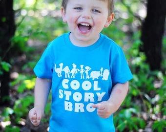 Cool Story Bro, toys shirt, birthday shirt, kids shirt, boy, girl, toddler, baby, funny shirt, kids tshirt, trendy kids clothes, story shirt