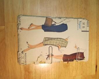 1958 Vogue Pattern for Skirt Pattern 9605