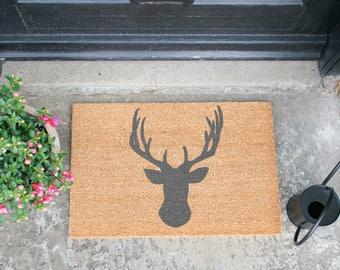 Stagshead Grey Doormat