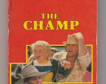 1979 The Champ, Fotonovel Paperback Book 1st Printing. VF-. Fotonovel Publications