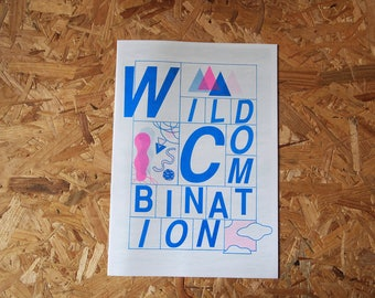 Wild Combination - a riso comic by Cicy Reay