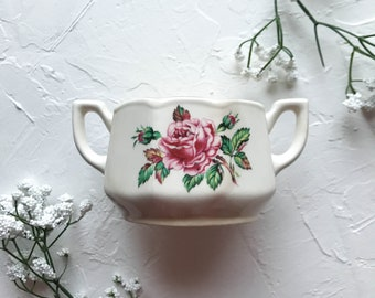 Floral Sugar Bowl [Food Photography Prop & Styling ]
