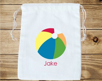 Pool Party Personalized Favor Bag