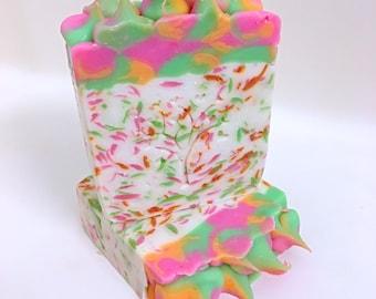 Rainbow Sherbet Confetti Soap