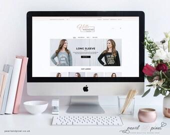 Custom E-commerce Website Design, custom shop website, custom shopify website, custom squarespace website, custom wordpress website design