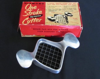 Vintage 50s – 60s Heavy Duty French Fry Cutter