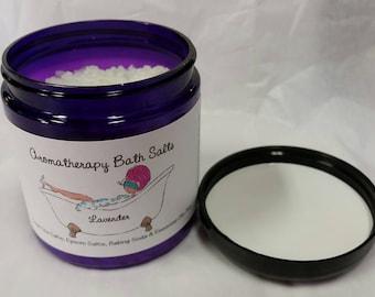 Aromatherapy Bath Salts 8 oz.