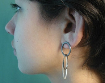 3 Loop Earring