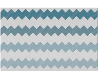 Chevron And On Placemat