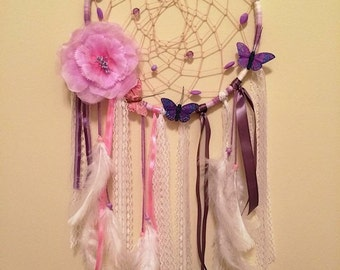 Girly Girl- Custom Dream Catcher