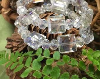 Corsage bracelet - Block Party Bracelet - Dazzle