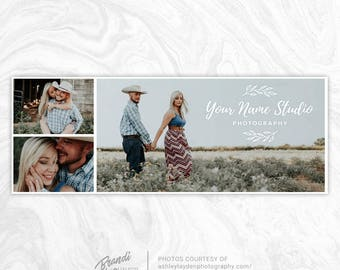 Facebook Timeline Cover PSD Template - Photography Facebook Cover - Facebook Cover Photo - Facebook Banner - Collage, Gallery, Laurels - FB2