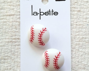 Baseball Shank Buttons - La petite - Cards with 2 Buttons                                                           03/2018
