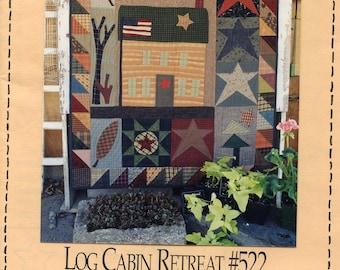 Log Cabin Retreat - Pattern