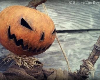 Sleepy Hollow Scarecrow Door Hanger