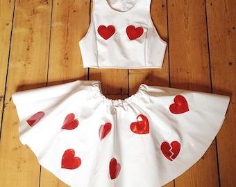 HEARTBREAKER PVC Twin Set