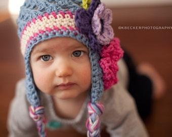girls winter hat, baby hat, girls hat, newborn girl hat, kids hat, girls hat, little girls hat, baby girl hat, baby girls hat, girls hat