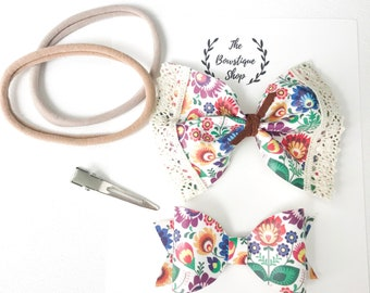 "Disney ""Coco""Floral Bows