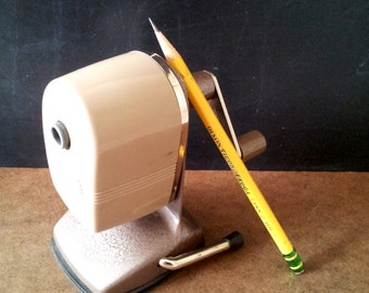 Apsco  Sharpener Vintage School Pencil Sharpener