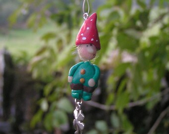 Lucky Gnome Window Charm