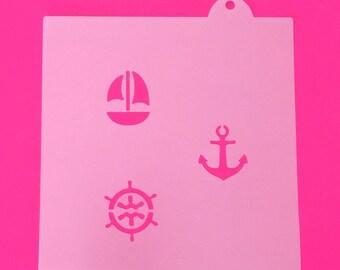 Nautical Oreo Stencils, Nautical ...