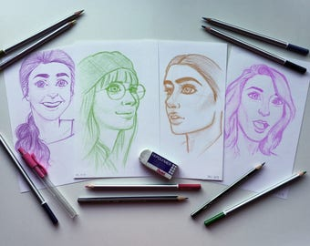 Sketchy Portraits