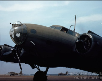 Poster, Many Sizes Available; B-17 Flying Fortress May 42 Langley Field