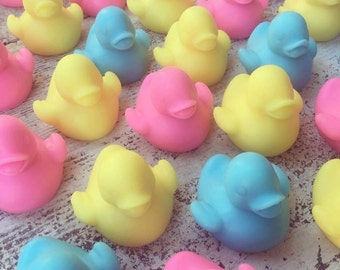 10 Duck Soap Favors – Baby Shower Duck Soaps, Rubber Duck, 3D, 1st Birthday Party, New Baby, Bath Soaps, Gender Reveal, Duckie, Duck Party