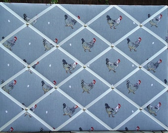 Sophie Allport Chickens Large Notice/Memo Board  - Free P&P