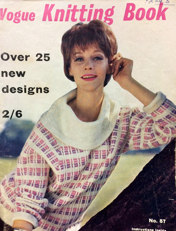 Vintage Vogue Knitting Book Magazine No 57 1960 vintage knitting ...
