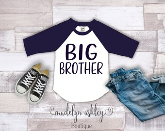 Big Brother Shirt-Big Brother Announcement Shirt-Big Brother Outfit-Big Brother Shirt Announcement-Big BrotherRaglan