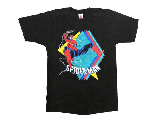 Vintage Spider-Man Diamonds T-Shirt
