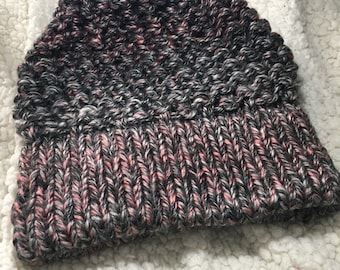 Heavy knitted beanie